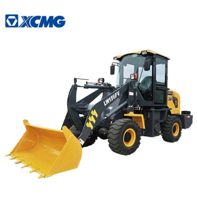 XCMG Official 1 ton mini wheel loaders LW156FV loader wheel price list