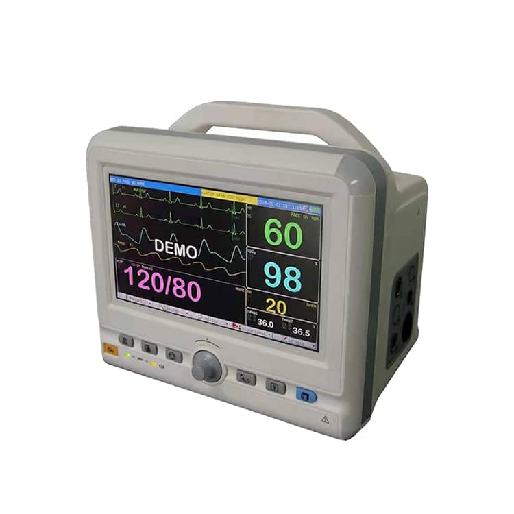 High Quality 7 Inch Color Touch Screen TR-900L medical ECG/SPO2 patient monitor for ICU/CCU for sale