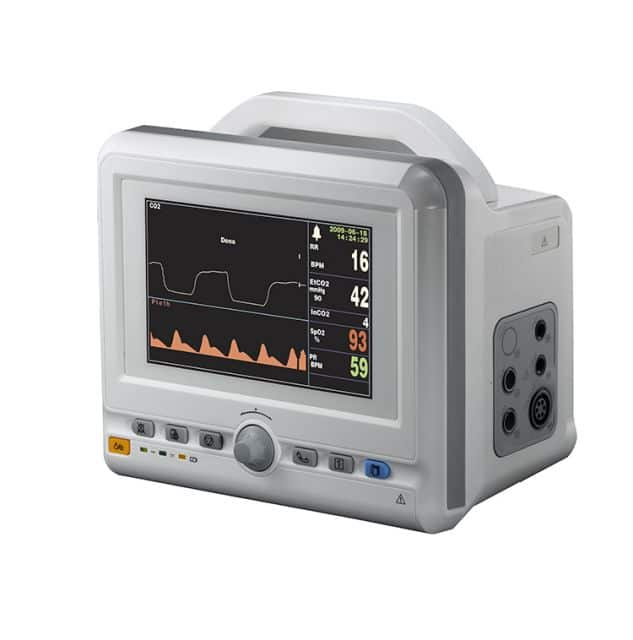 Multi-parameter patient monitor TR-600G/G+ with 7/8 inch color LCD display NIBP/SPO2/ETCO2 monitor