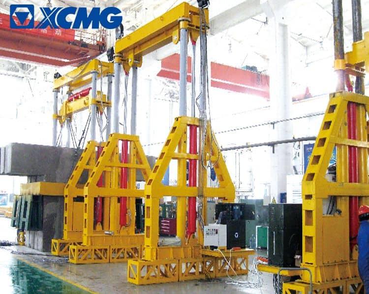 XCMG 180 ton gantry crane TT180 China hydraulic mobile overhead crane flip gantry crane price