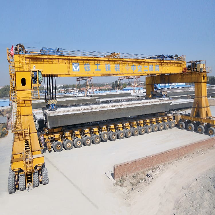 XCMG official 900 ton girder lifter TT900 wheel precast girder gantry cranes lifting machine price