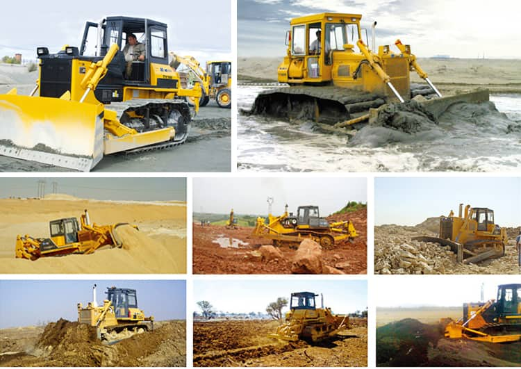 XCMG Official 460HP Small Bull Dozes TY410 China New Bulldozers For Sale