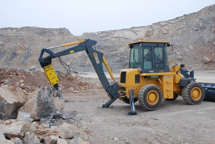 XCMG Official 2.5 ton backhoe loader WZ30-25 mini loader backhoe with price