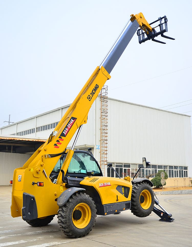 XCMG Official XC6-3514K 3.5 ton side loader forklift 14m small telehandler telescopic handler price