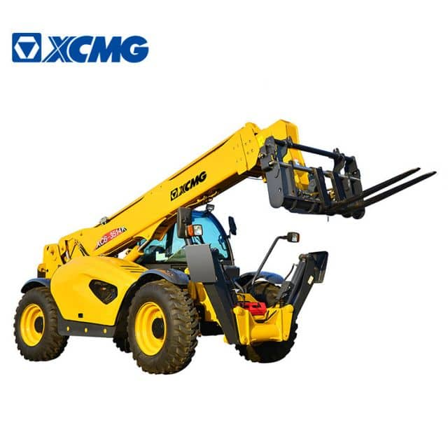 XCMG official 3 ton agricultural telescopic handler XC6-3514K 14m side loader forklift price