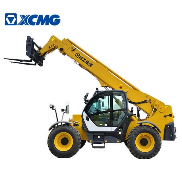 XCMG Official XC6-3514K 3.5 ton side loader forklift 14m small telehandler telescopic handler price