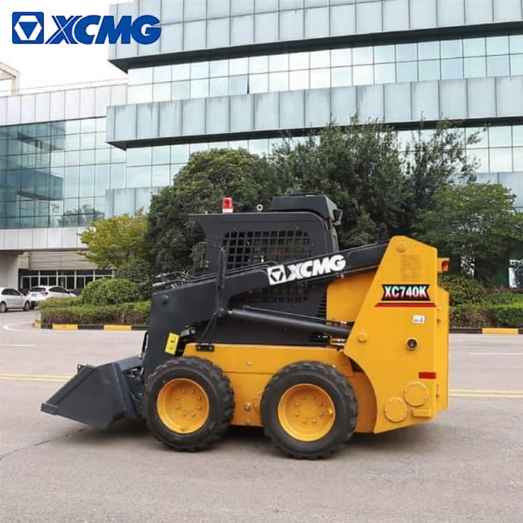 XCMG Official 1 Ton Mini Skid Steer Track Loader XC740K Price