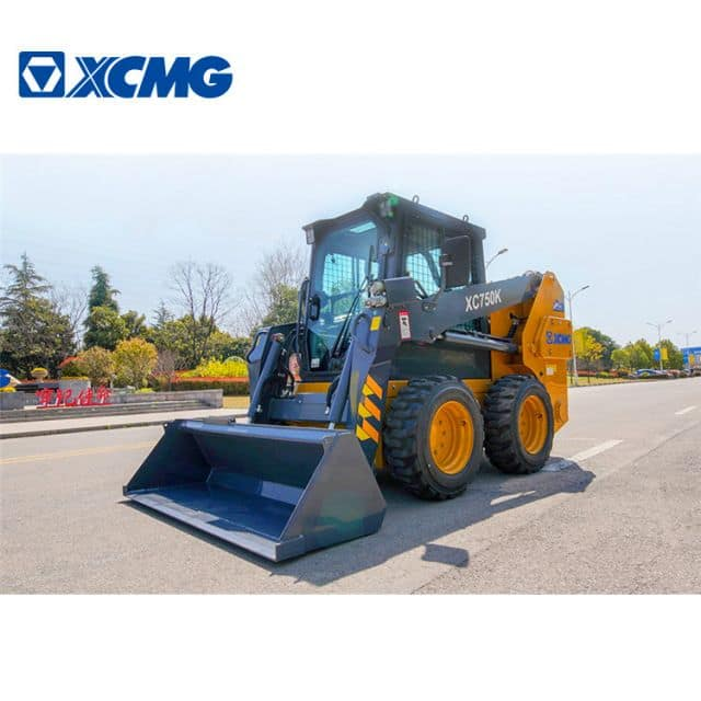 China XCMG  XC750K 1 ton Mini Skidsteer Loader with Attachments