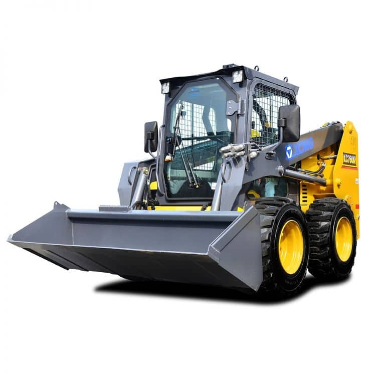 XCMG Official XC760K Skid Steer Loader for sale
