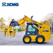XCMG Manufacturer 1 ton mini skid steer loader XC760K China skidsteer loaders with attachments price