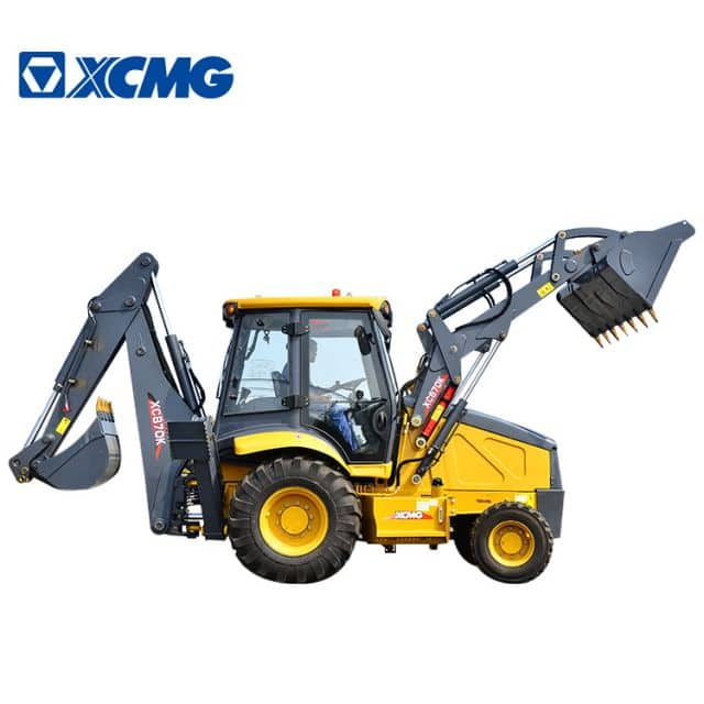 XCMG XC870K 2.5 ton new backhoe China loader mini tractor with front end loader and backhoe for sale