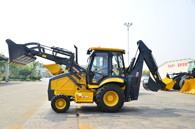 XCMG XC870K 2.5 ton new China tractor with loader and backhoe for sale
