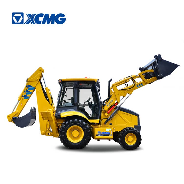 XCMG XC870K 2.5ton new mini wheel backhoe with front end loader and excavator