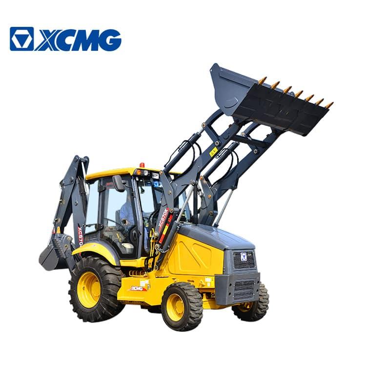XCMG mini backhoe XC870K 2.5ton new backhoe loader and wheel excavator
