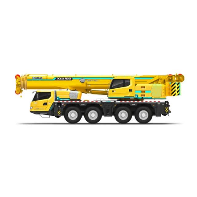 XCMG China All Terrain Crane 100 ton cranes XCA100 Mobile crane with CE price list