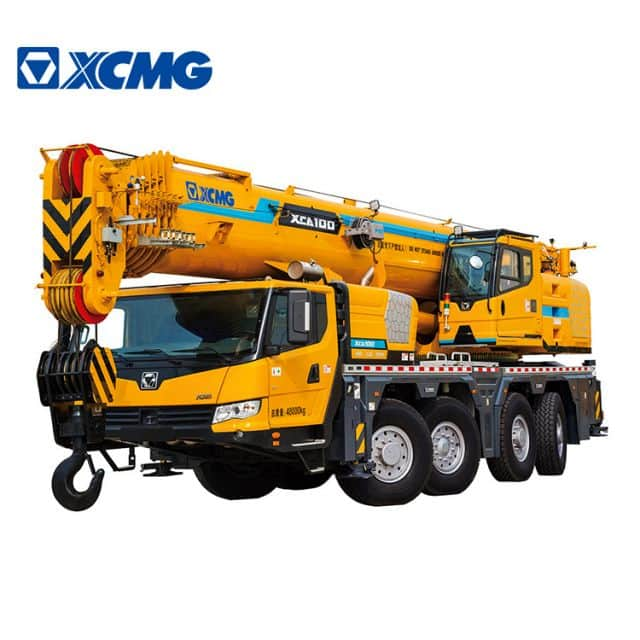 XCMG Original Manufacturer 100 Ton Mobile All Terrain Truck Crane XCA100 Price