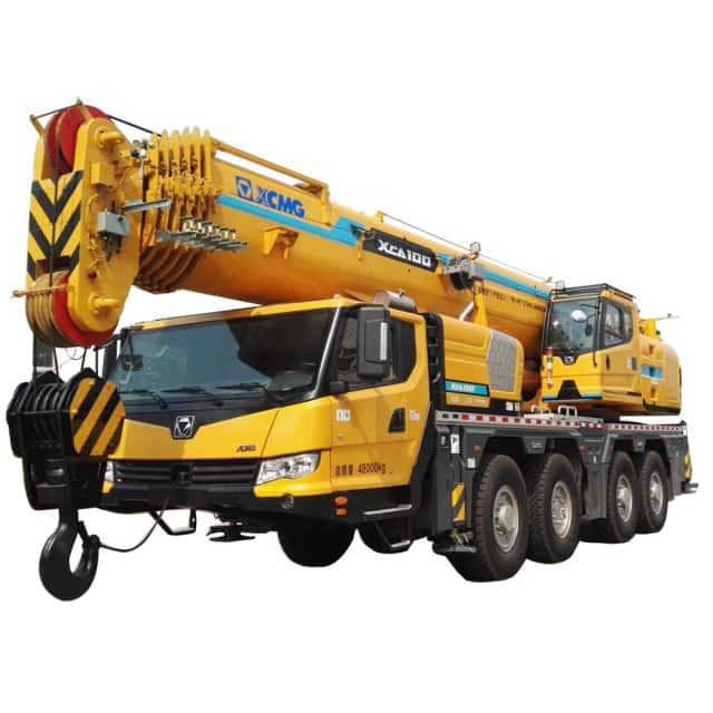 XCMG 100 ton crane China All Terrain Crane XCA100 Mobile crane with CE for sale