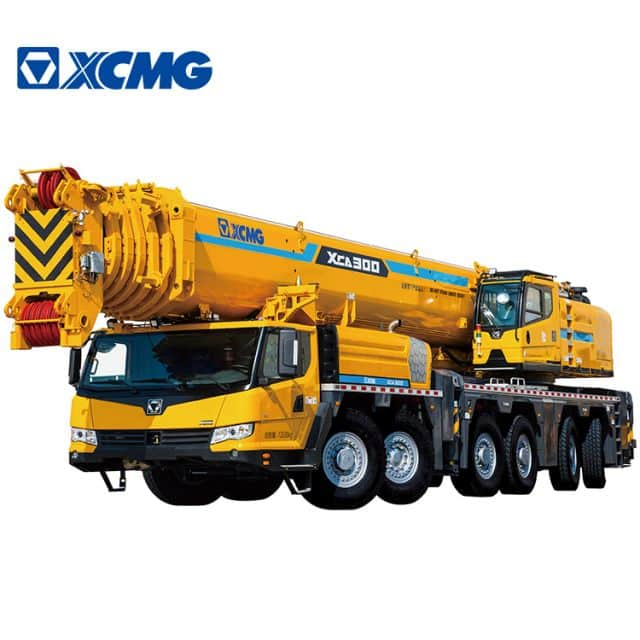 XCMG Official 300 Ton hydraulic truck crane XCA300 New All Terrain Crane Price