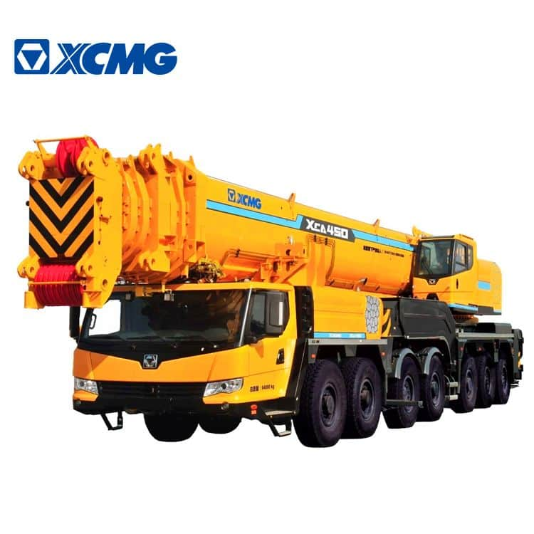XCMG Official 450 Ton All Terrain Mobile Crane XCA450 China Truck with Crane Price