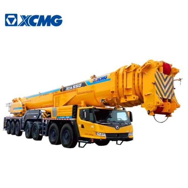 XCMG Official 550 Ton New Mobile Crane XCA550 China All Terrain Cranes for Sale