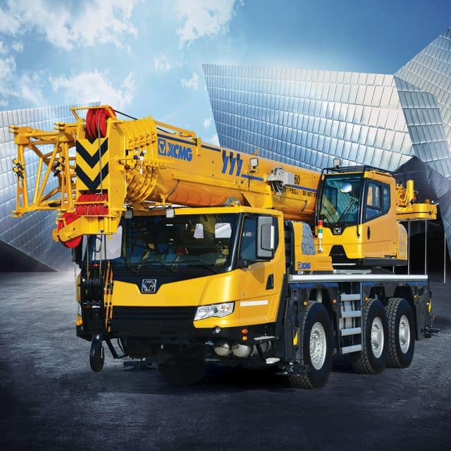 XCMG Official 60ton All Terrain Crane XCA60_E (Euro stage IV) for sale