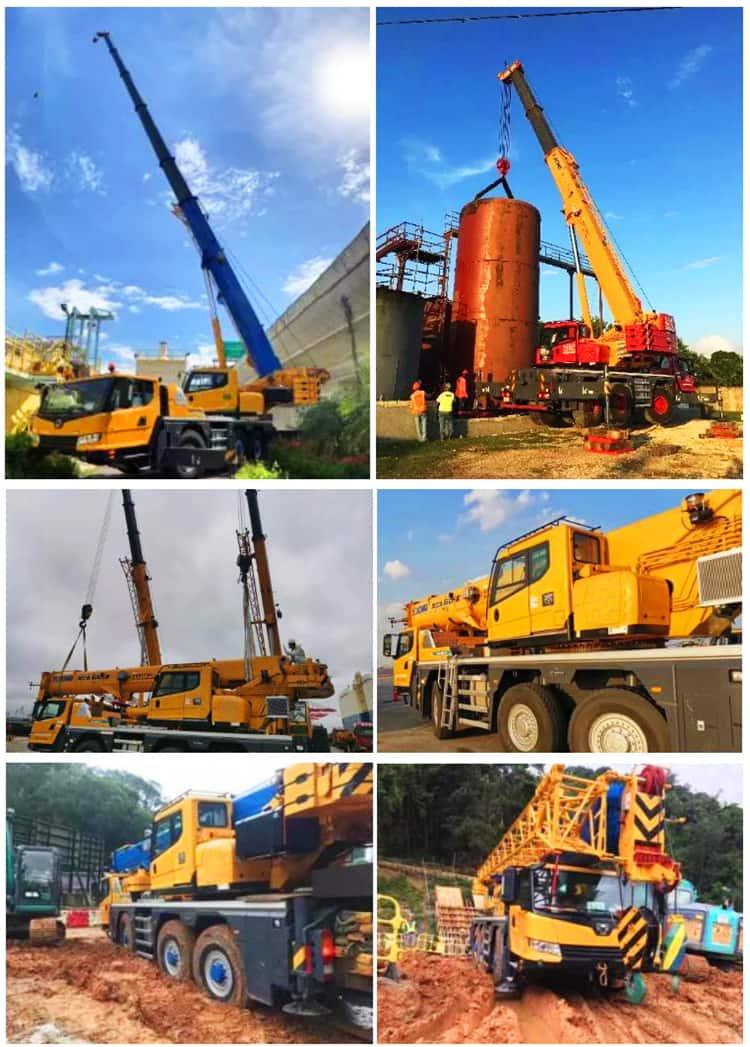 XCMG All-Terrain Crane XCA60E New 60 Ton Boom Truck Crane Price