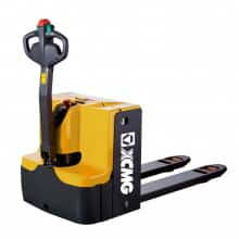 XCMG official 2 ton AC battery electric pallet truck XCC-PW20 foldable platform pallet trucks price