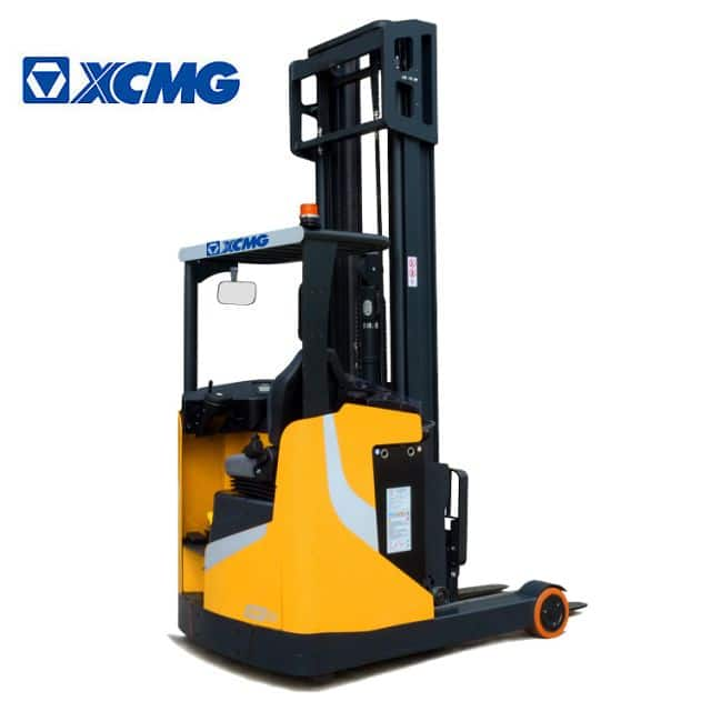XCMG official 1.6 ton electric stacker XCF-PSG16 China new AC battery reach stacker forklift price