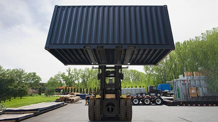 XCMG 16 Ton Forklift  XCF1612K1 Port Equipment For Sale