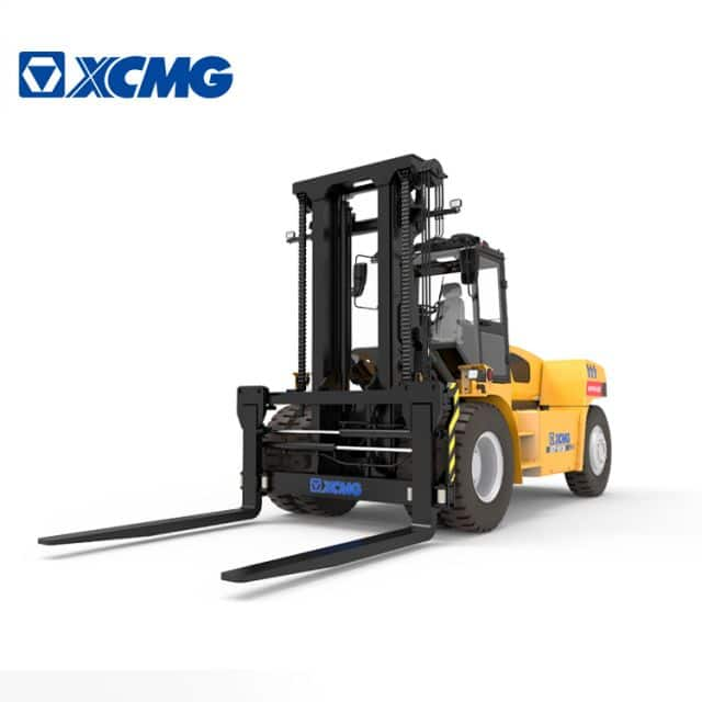 XCMG 16 ton forklift trucks XCF1612K China mobile counterbalanced forklift port equipment