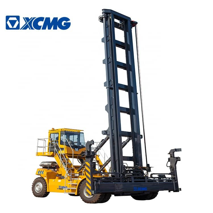 XCMG 9 Ton Empty Container Handler Reach Stacker Crane China Porting Machine XCH90 Price