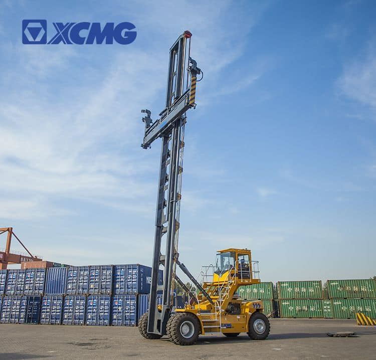 XCMG official 9 ton container reach stacker XCH908K empty container handler container crane loader