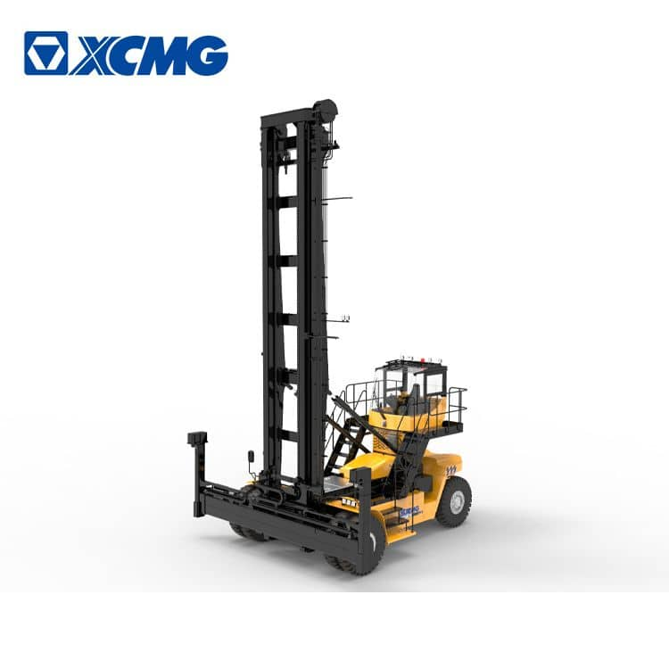 XCMG 9 ton empty container handler XCH907K mobile container reach stacker crane