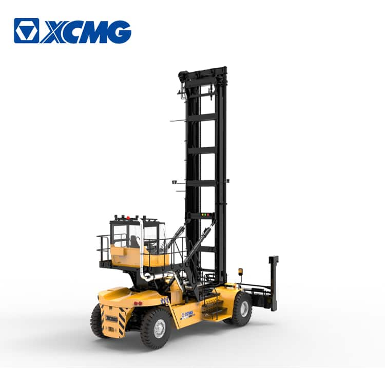 XCMG empty container handler XCH907K1 9 ton mobile container reach stacker with Cummins engine