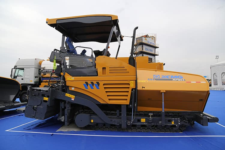 XCMG 8m RP803 concrete road paver machine for sale