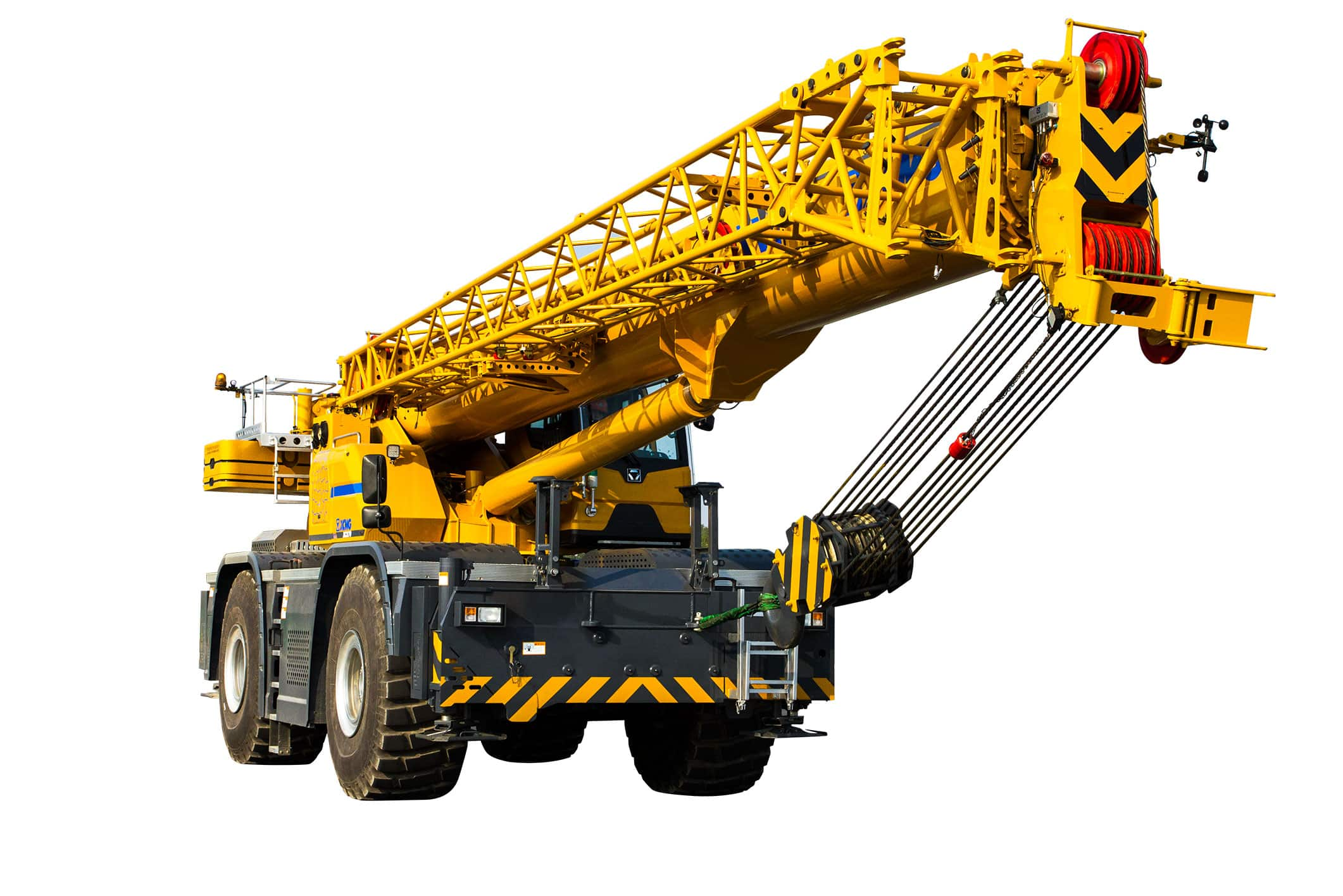 XCMG Official XCR70 Rough Terrain Crane for sale