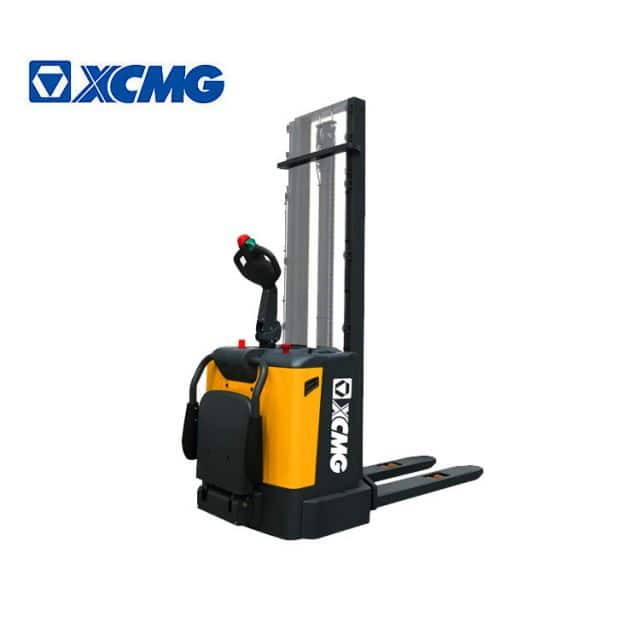 XCMG official 1.5 ton electric stacker XCS-P15 China new walking pallet stacker price