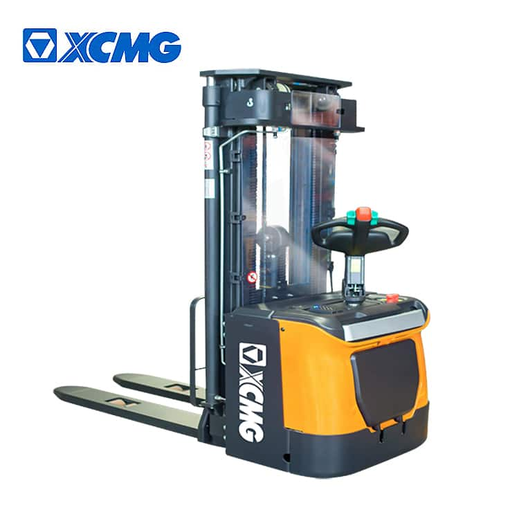 XCMG Electric Stacker Forklift XCS-P20 China new 2 tons walking pallet stacker price.
