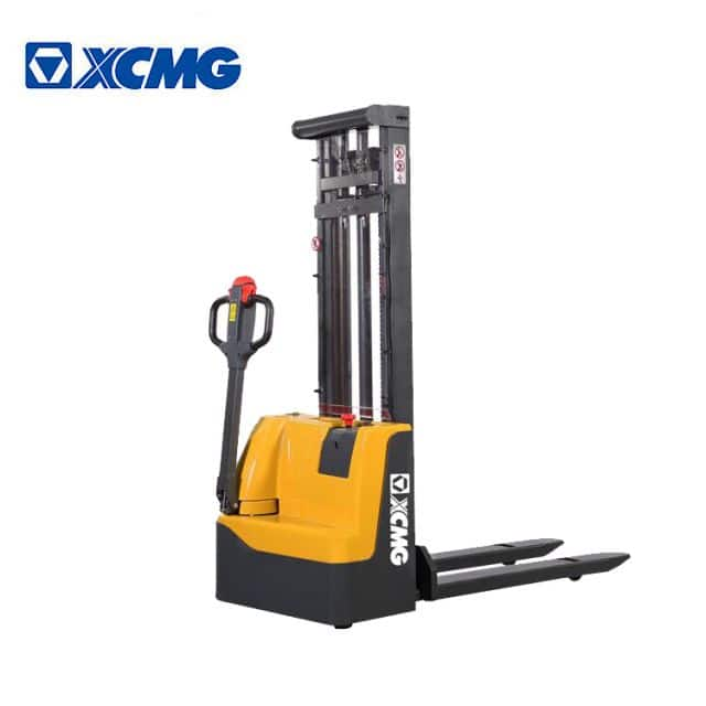 XCMG Small Electric Stacker XCS-PW10 1 ton walking pallet stacker forklifts price