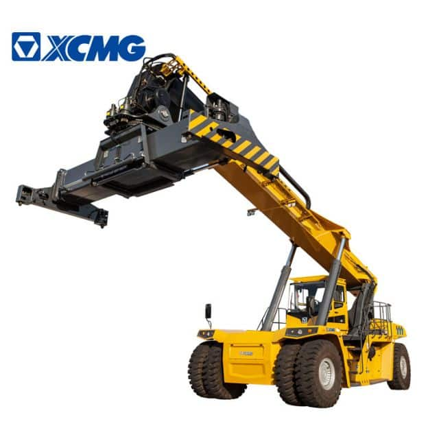 XCMG 45 Ton Diesel Reach Stacker For Containers China Port Container Reach Stacker XCS45 Price