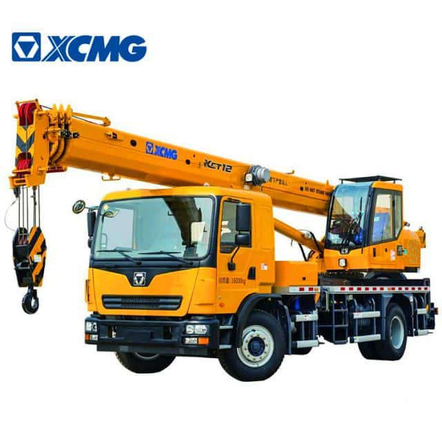 XCMG Official 12 Ton Hydraulic Cranes XCT12L3 China Hydraulic Boom Crane for Sale