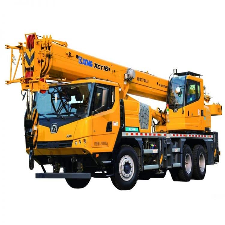 XCMG Official XCT16 Truck Crane for sale