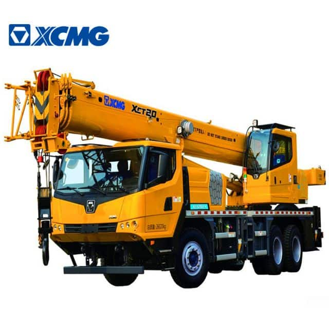 XCMG Official 20 Ton Hydraulic Lifting Crane XCT20L4 China RC Hydraulic Boom Crane Price