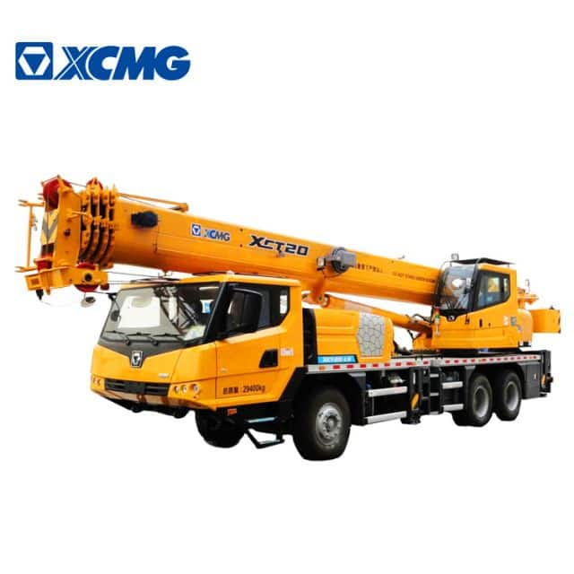 XCMG Official 20 Ton New Mobile Crane XCT20 China Small Truck Crane Price
