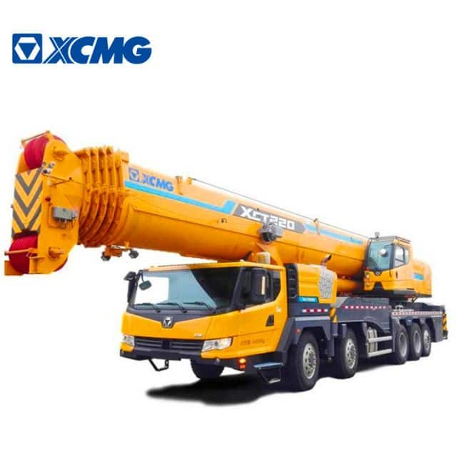 XCMG Official 220 Ton Mobile Lifting Crane XCT220 China Mobile Crane Price