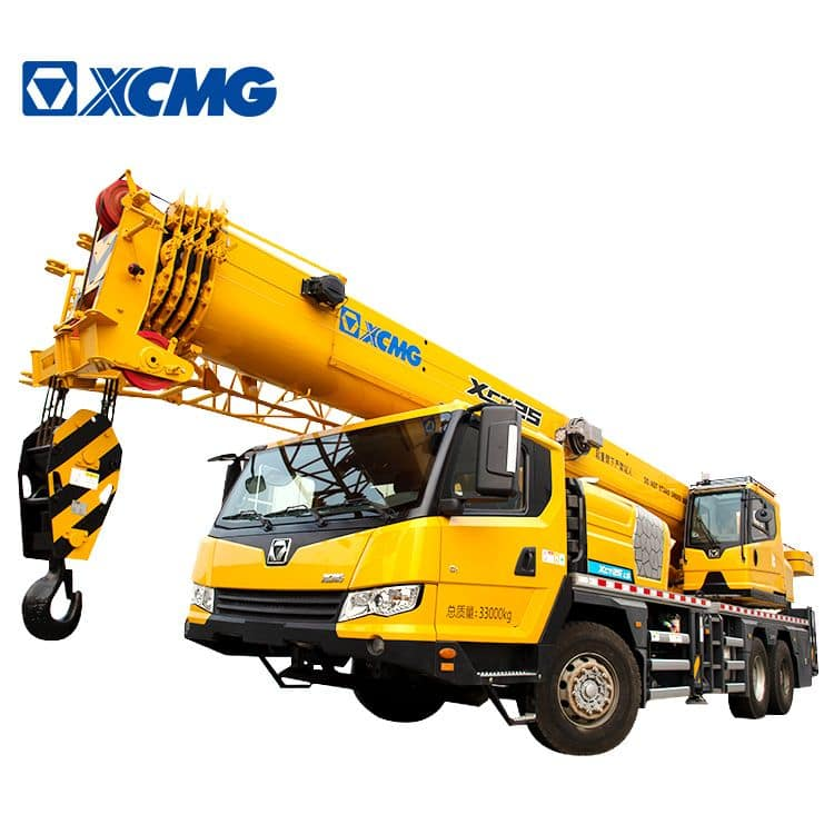 XCMG Factory XCT25L5 Brand New 25 Ton Mobile Truck Crane with Good Price