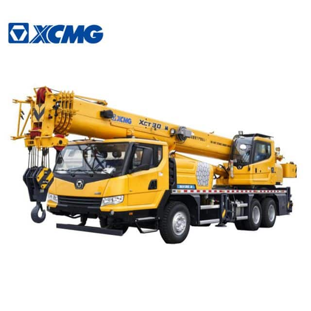 XCMG official 30 ton hydraulic rc truck crane XCT30_M mobile crane for sale