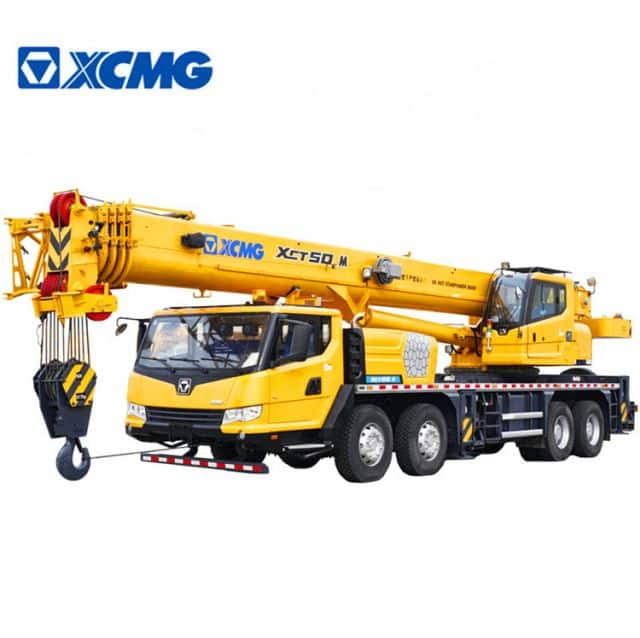 XCMG Official 50 Ton Hydraulic Jib Crane XCT50_M China Hydraulic Cranes Truck for sale