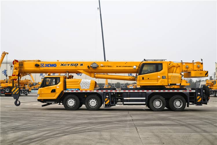 XCMG XCT50_M 50t brand new hydraulic arm lift truck crane for sale