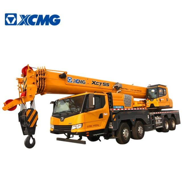 XCMG Official 55 Ton RC Mobile Crane XCT55L5 China RC Hydraulic Boom Crane Price